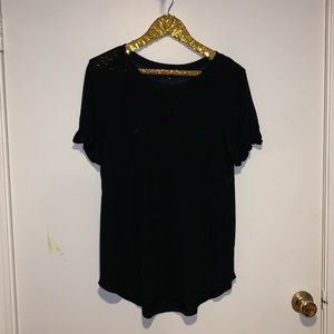 Wantable black tee shirt